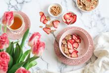 Breakfast Scene With Yogurt, G...