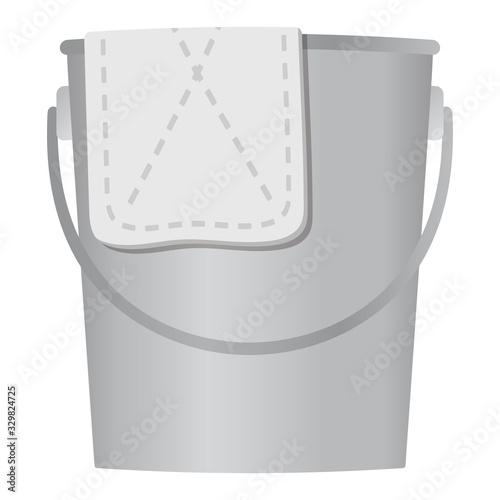 Fotografia, Obraz 雑巾とバケツ