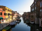 Fototapeta Uliczki - empty streets of Venice after coronavirus Italy lockdown, coronavirus fears, Venice Italy