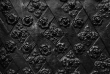 Black Forged Door, Rhombus Sym...