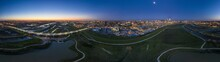Panoramic Aerial Drone Picture...