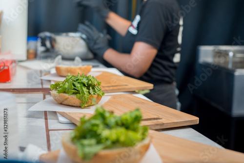 Fényképezés hamburguesa