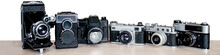 Photo Of Old Film Cameras
