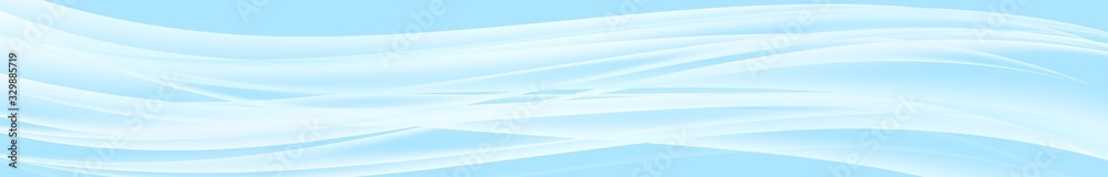 Fototapeta Web header vector background. Water curve texture. Pastel abstract background. Vector abstract design banner template.