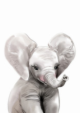 Elephant Print • Safari Nurs...