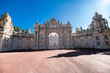 Istanbul, Turkey - October, 2019: Dolmabahce Palace in Istanbul, Turkey
