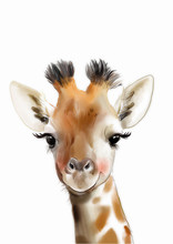 Safari Nursery Art • Giraffe...