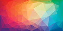 Low Poly Triangular Background...