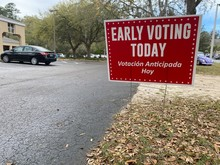 Early Voting Today Bilingual Y...