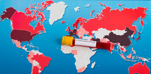World Map Of Coronavirus And B...