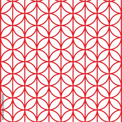 Fototapeta kratka  geometry-of-circle-on-background-vector-pattern-pattern-is-on-swatch-panel