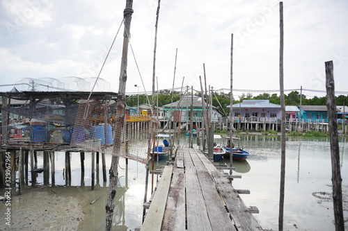 Photo Pulau Ketam is an island at the mouth of the Klang River, near Port Klang