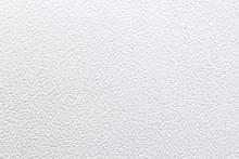 White Bumpy Wall Background. H...