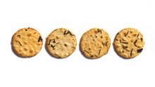 Four Round Seaweed Rice Cracke...