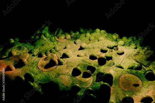 Photo Virus, Bacteria, Spore - Scientific Illustration