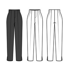 Pants For Ladies Fashion Flat ...