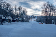 Skiing At The North Carolina S...