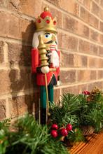 Christmas Nutcracker With Bric...