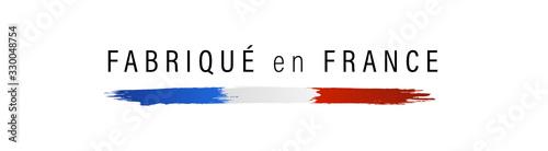 Obraz Drapeau français, made in France, fabriqué en France. - fototapety do salonu