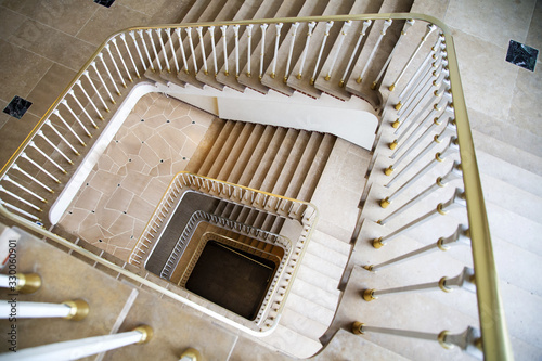 Photographie Spiral Stairs