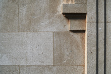 Closeup Of Architectural Element For Background Or Texture