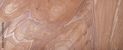 Brown beige abstract marble granite natural sand stone texture panorama Canvas Print