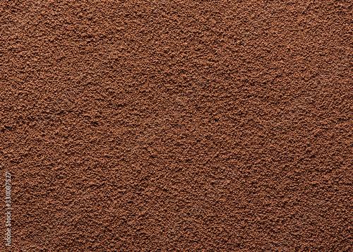 Obraz Instant coffee texture background. Top view. - fototapety do salonu