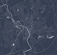Map Of The City Of York, North...
