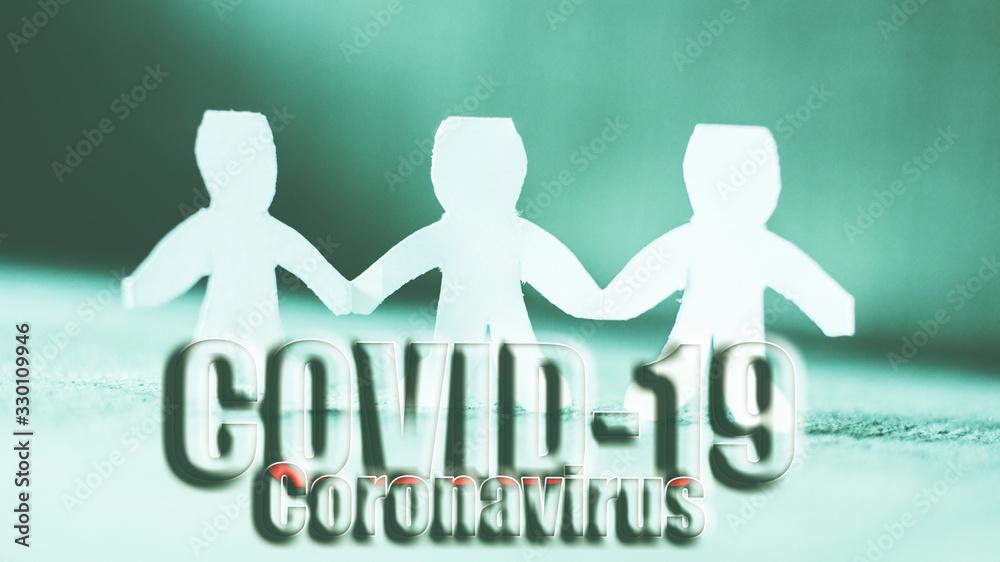 Fototapeta Coronavirus Covid-19 pandemic concept