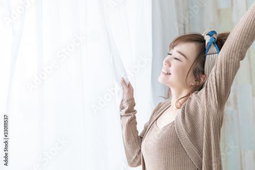 Photo ルームウェアの女性