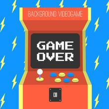 Classic Arcade Game Machine Re...