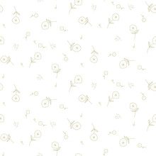 Floral Seamless Pattern With T...