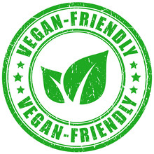 Vegan Friendly Product Vector ...