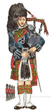 Pipe Major Of The Scots Guards...