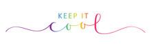 KEEP IT COOL Vector Rainbow-co...