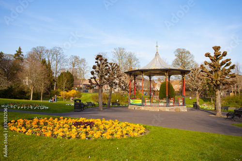 Photo The Bandstand in Borough Gardens In Dorchester