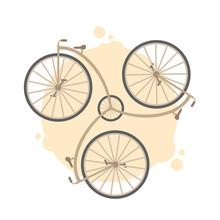 Vector Retro Vintage Bicycle I...