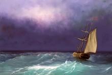 Oil Paintings Sea Landscape, S...