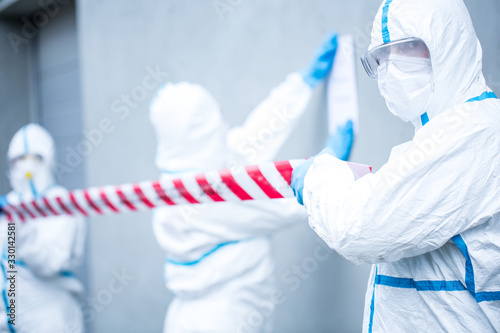 Obraz na plátně Coronavirus outbreak
