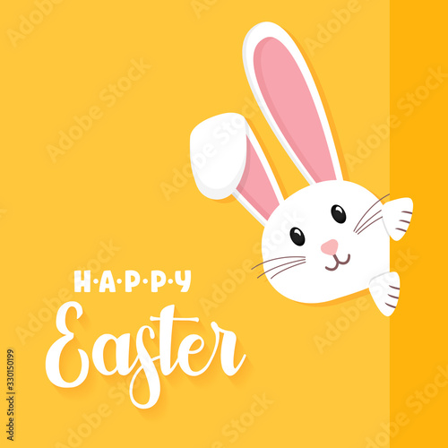 Fotografija Easter rabbit, easter Bunny. Vector illustration.