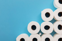Toilet Paper Roll Background. ...