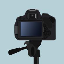 DSLR Camera Back Side