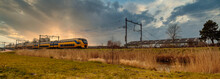 Sunset Panorama With Passenger...