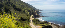Panorama Of Highway 1 Near Big...