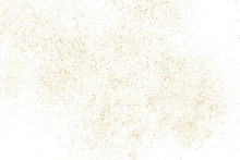 Gold Glitter Texture Isolated ...