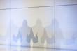 canvas print picture - Mann bei einem Vortrag als Schatten mit erhobenen Zeigefinger