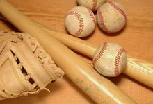 Bats Glove & Baseballs