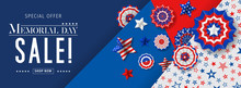 Banner For Memorial Day Sale D...