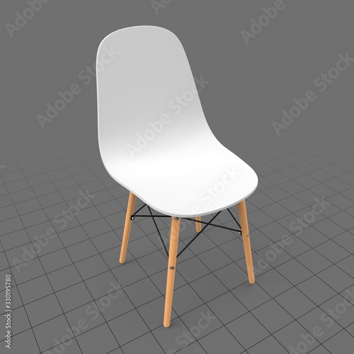 Obraz Modern chair - fototapety do salonu