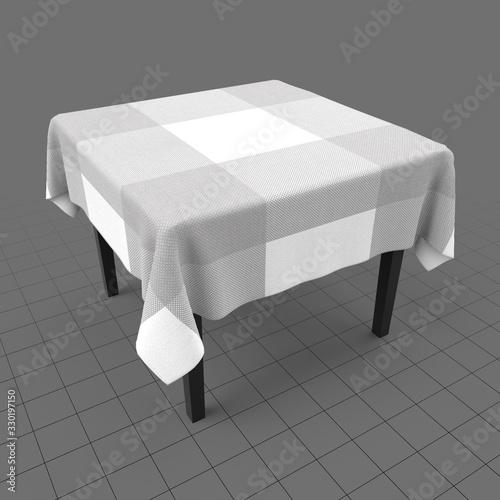 Obraz Modern table 2 - fototapety do salonu